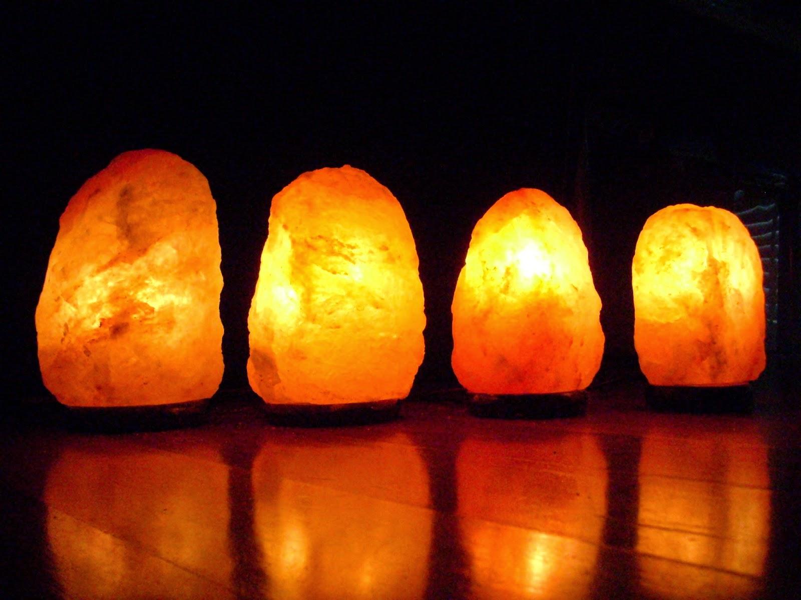 Lampade In Vetroresina : Le lampade di sale energia pura per il vostro benessere