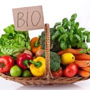 bio biologico frutta verdura cestino