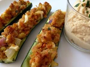 zucchine-ripiene-di-ceci