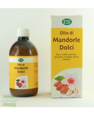 OLIO MANDORLE DOLCI 500 ml ESI