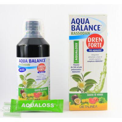 AQUA BALANCE RASSODAN DREN FORTE gusto tè verde 500 ml DIETALINEA