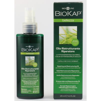 BIOKAP OLIO RISTRUTTURANTE RIPARATORE 125 ml BIOS LINE