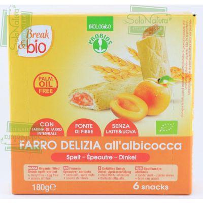 BREAK&BIO FARRO DELIZIA ALBICOCCA 6X33 gr PROBIOS