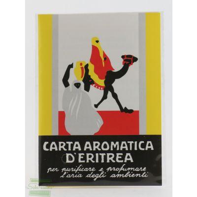 CARTA  AROMATICA D'ERITREA  CASANOVA