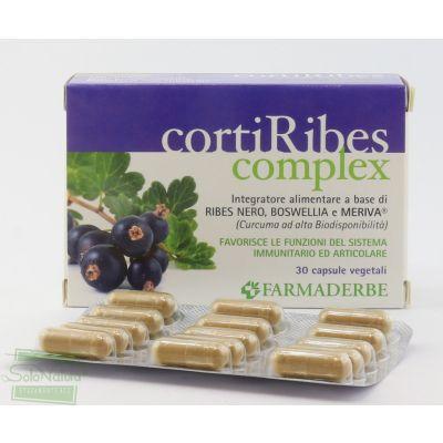 CORTIRIBES COMPLEX 30 cps  INTEGRATORE ALIMENTARE FARMADERBE
