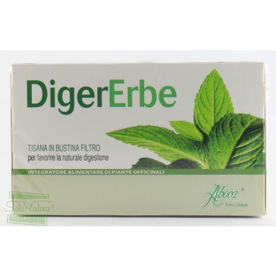 DIGERERBE TISANA 20 filtri ABOCA