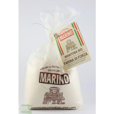 FARINA DI GRANO TENERO TIPO MANITOBA 1 kg MULINO MARINO