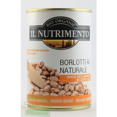 IL NUTRIMENTO FAGIOLI BORLOTTI AL NATURALE 400 gr PROBIOS