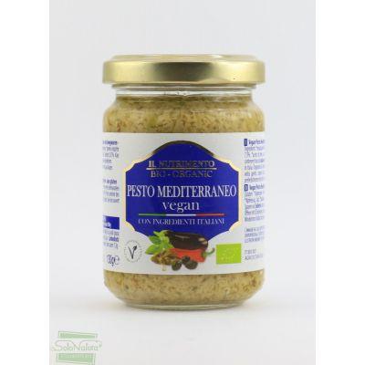 IL NUTRIMENTO PESTO MEDITERRANEO CON MELANZANE 130 gr PROBIOS