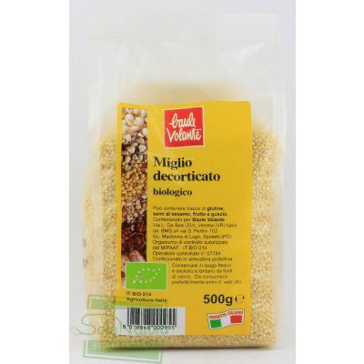 MIGLIO DECORTICATO 500 gr BAULE VOLANTE