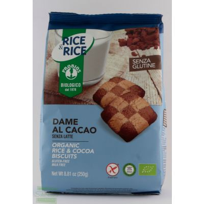 RICE&RICE DAME RISO CACAO 250 gr PROBIOS