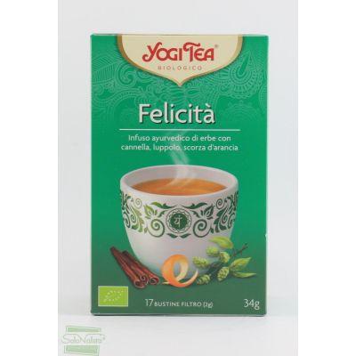 TISANA FELICITA' 30,6 gr YOGY TEA