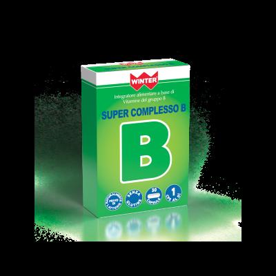 SUPER COMPLESSO B 30 compresse INTEGRATORE ALIMENTARE WINTER