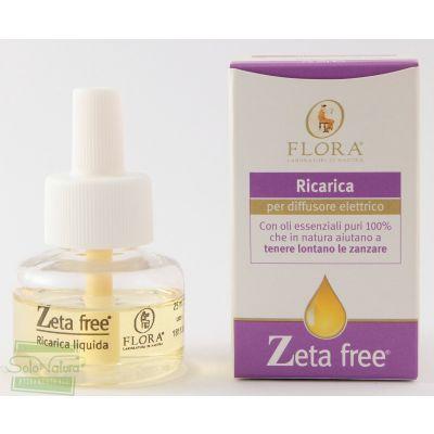 ZETA FREE  ANTIZANZARE RICARICA DIFFUSORE 25 ml FLORA